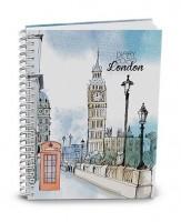 Diář týdenní - volnočasový Egon - London BTE0-2