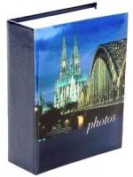 Fotoalbum 10 x 15 cm - 100 foto - Castle 1 - tmavě modré - 230145 1