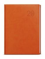 Diář týdenní Prokop - vivella - B6 - oranžová BTP6-4