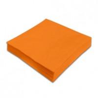 Ubrousky Maki Unicolor L 20 ks, 0300 - tmavě oranžová