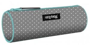 Pouzdro Etue kulatá Karton P+P - Grey dots - 7-88319