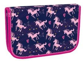 Školní penál Stil - jednopatrový - Pink Unicorn - 1523449