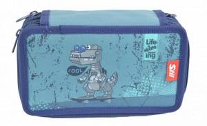 Školní penál 3 patra - bez náplně - Stil - Cool Robot - 1523349