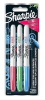 Permanetní popisovač Sharpie Metallic Colours 3 ks 0074/2067103