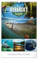 Kalendář nástěnný - Rybářský 2020 - 33 × 46 cm - PGN-7445-L
