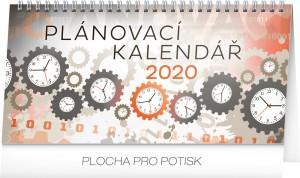 Kalendář stolní - Plánovací 2020 - 25 x 12,5 cm - PGS-6839
