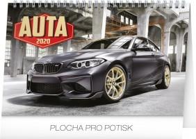 Kalendář stolní - Auta 2020 - 23,1 x 14,5 cm - PGS-6891