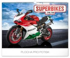 Kalendář nástěnný Superbikes 48 × 33 cm PGN-6667-L
