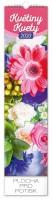 Kalendář nástěnný Květiny 12 × 48 cm PGN-6661-L