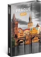 Diář týdenní magnetický Praha 11 × 16 cm PGD-7043-V