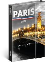 Diář týdenní magnetický Paříž 11 × 16 cm PGD-7034-V