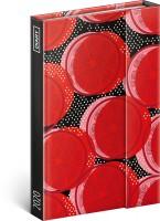 Diář týdenní magnetický Červený Pomeranč 11 × 16 cm PGD-7030-V