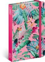 Diář týdenní - Květiny 2020, 11 × 16 cm - PGD-6999-V