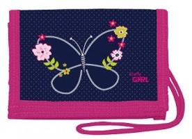 Peněženka na krk - Butterfly - Stil - 1523326