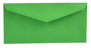 Obálka DL tmavě zelená 5114