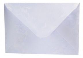 Obálka C6 s ražbou - bílá - 190405