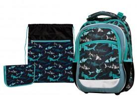 Školní set Stil - junior - shark - 1523577