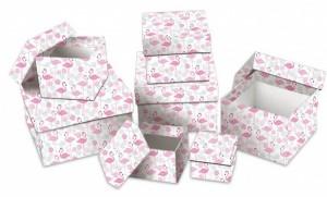 Dárková krabice Lux - set D - kostka, 7 ks - 501125