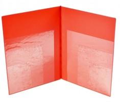 Sloha A4 vícenásobné kapsy - červená 5-405