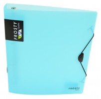 Pořadač P+P A4 - D30 - 4 kr. - maxi - Opaline Frosty - modrá - 2-294