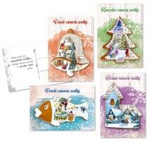 Pohlednice vánoční - 0611-0288C