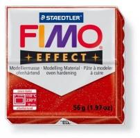 Modelovací hmota FIMO 56 g effect glitrová červená 8020-202