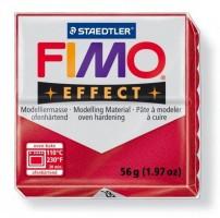 Modelovací hmota FIMO 56 g effect metalická červená 8020-28