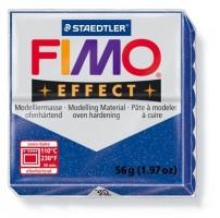 Modelovací hmota FIMO 56 g effect glitrová modrá 8020-302