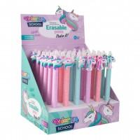 Gumovací pero Colorino - Jednorožci - R53961