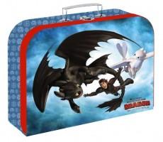 Kufřík lamino 34 cm - Jak vycvičit draka - Karton P+P - 5-66520