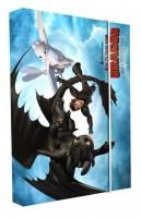 Box na sešity A4 - Karton P+P - Jak vycvičit draka - 5-74520