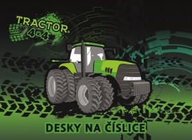 Desky na číslice - Traktor - Karton P+P - 3-93720