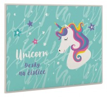 Desky na číslice - Unicorn Iconic - Karton P+P - 3-93520