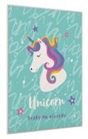 Desky na abecedu - Unicorn Iconic - Karton P+P -1-17420