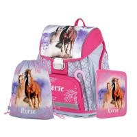 Školní 3 dílný set - Karton P+P - Premium - Kůň - 0-89320