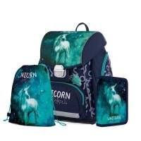 Školní 3 dílný set - Karton P+P - Premium - Unicorn 1 - 0-20720
