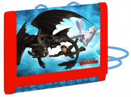 Dětská textilní peněženka - Karton P+P - Jak vycvičit draka8-05420