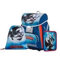 Školní 3 dílný set - Karton P+P - Premium - Jak vycvičit draka - 0-20820