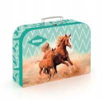 Kufřík lamino 34 cm - Kůň Romantic - Karton P+P -5-66220