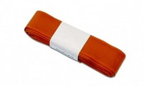 Stuha dekorační taftová 25 mm x 5 m - oranžová