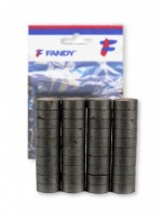 Magnety Fandy 50 ks - 10 mm