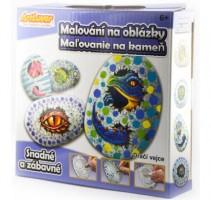 Malování na oblázky - Dračí vejce - RPK-MB008