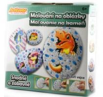 Malování na oblázky - Dino vejce - RPK-MB006