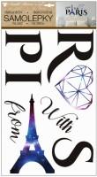 Samolepky na zeď Paris 10284