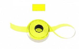 Cenové - značkovací etikety 25 x 16 Contact hranaté žluté