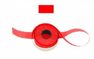 Cenové - značkovací etikety 25 x 16 Contact hranaté červené