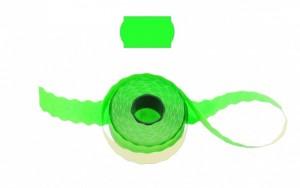 Cenové - značkovací etikety 25 x 16 Contact oblé zelené