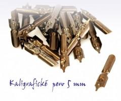 Kaligrafické pero 5 mm