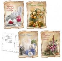 Pohlednice vánoční - 0611-0285C