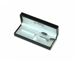 Kuličkové pero Katherine - bílá